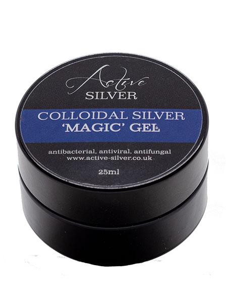 Acitve Silver Colloidal Silver Magic Gel 25ml - Natural Ethos