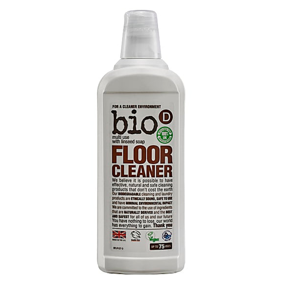 Bio-D Floor Cleaner With Linseed Soap 750ml - Natural Ethos