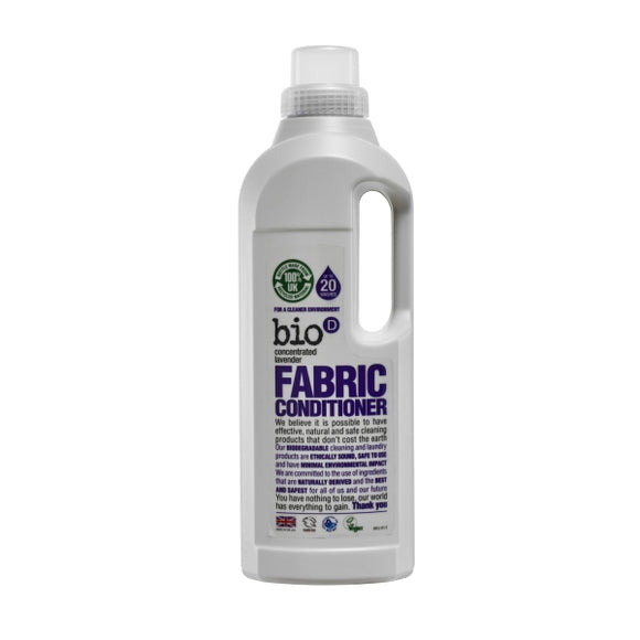 Bio-D Fabric Conditioner - Lavender 1Ltr - Natural Ethos