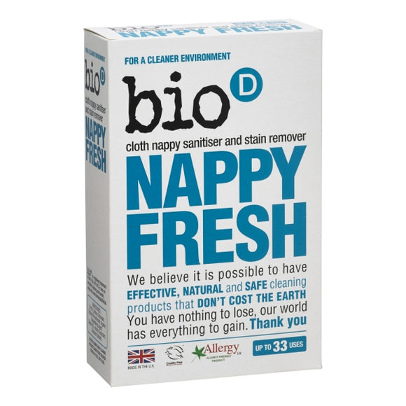 Bio-D Nappy Fresh 500g - Natural Ethos