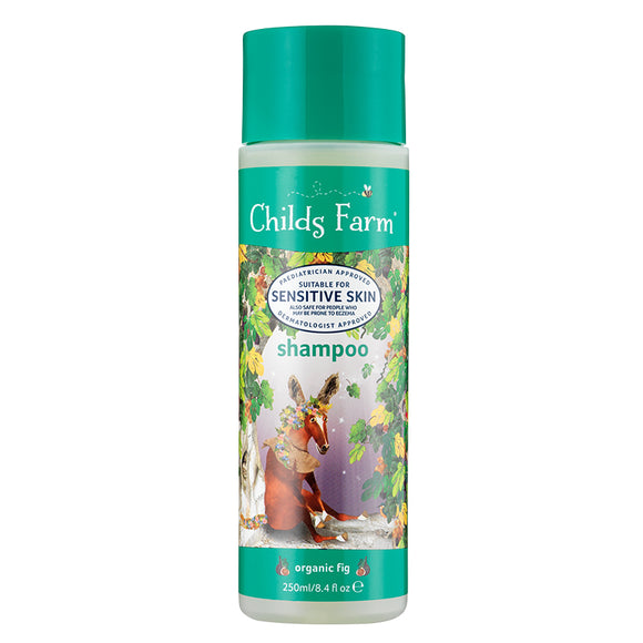 Childs Farm shampoo organic fig 250ml - Natural Ethos