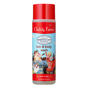 Childs Farm Sweet Orange Hair & Body Wash 250ml - Natural Ethos