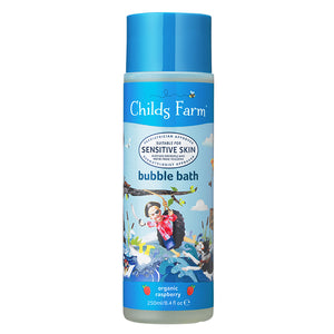 Childs Farm Organic Raspberry Bubble Bath 250ml - Natural Ethos