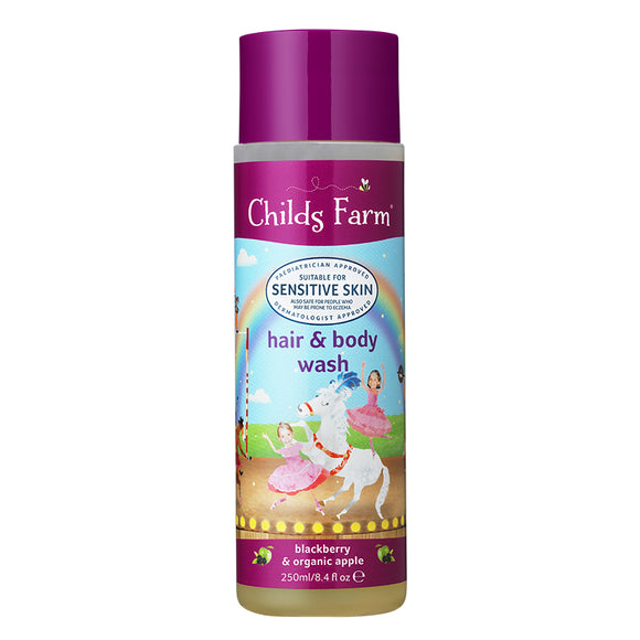 Childs Farm Blackberry & Apple Hair & Body 250ml - Natural Ethos