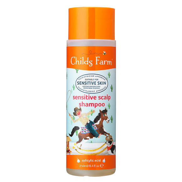 Childs Farm sensitive scalp shampoo, unfragranced 250ml - Natural Ethos