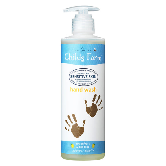 Childs Farm hand wash, grapefruit & tea tree oil 250ml - Natural Ethos