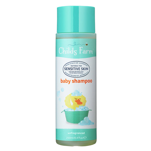 Childs Farm Baby Shampoo - Unfragranced 250ml - Natural Ethos