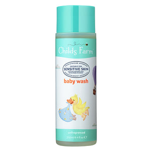 Childs Farm Baby Wash - Fragrance Free 250ml - Natural Ethos