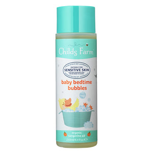 Childs Farm Baby Organic Bedtime Bubbles - Tangerine 250ml - Natural Ethos