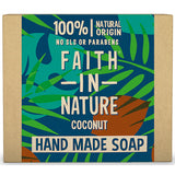 Faith In Nature Organic Coconut Hand Made Soap 100g - Natural Ethos