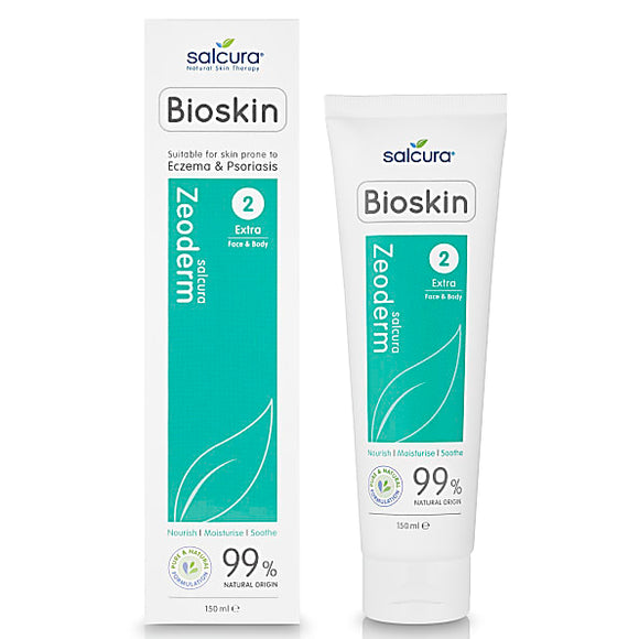 Salcura Bioskin Zeoderm Extra - Face & Body 150ml - Natural Ethos
