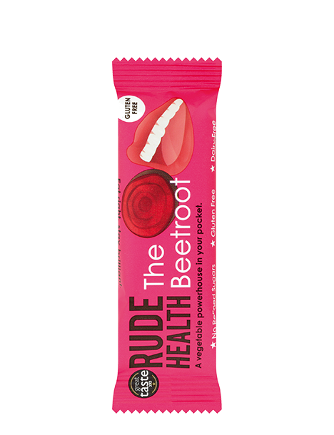 Rude Health The Beetroot Snack Bar - Natural Ethos