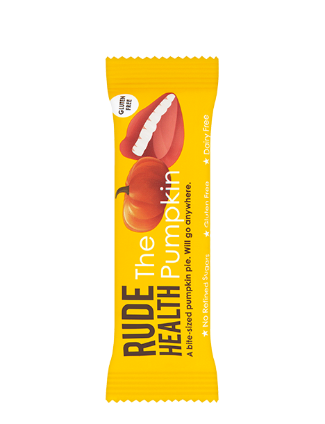 Rude Health The Pumpkin Snack Bar - Natural Ethos