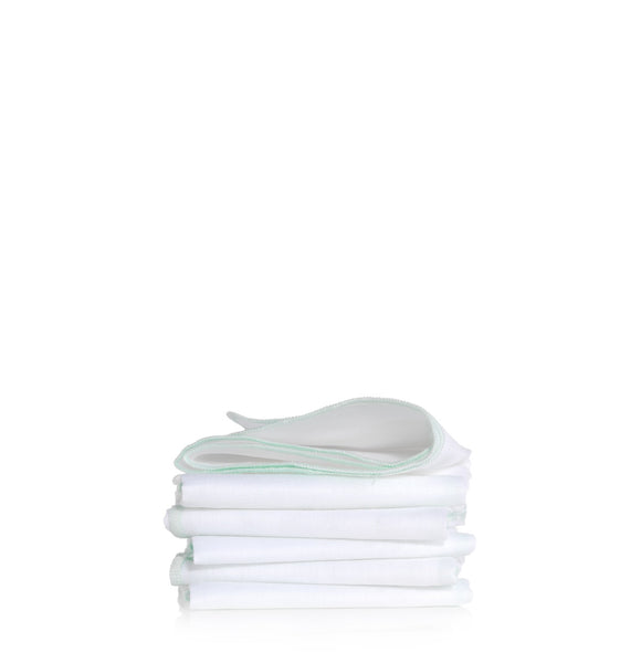 Liz Earle Pure Cotton Cloths Pack of Six - Natural Ethos