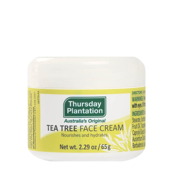 Thursday Plantation Tea Tree Face Cream 65g - Natural Ethos