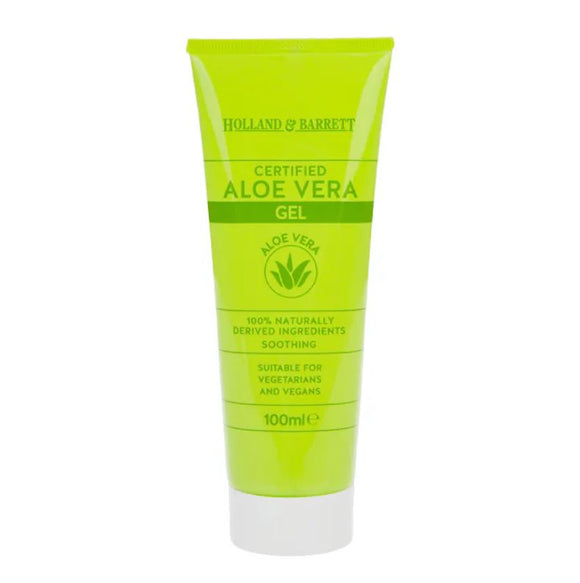 Holland & Barrett Aloe Vera Gel 100ml