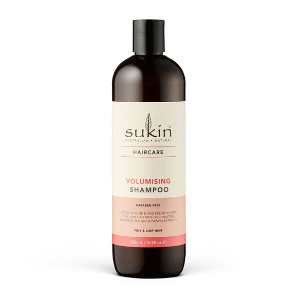 購買澳洲Sukin 豐盈洗髮露500ml - Buy Sukin Sukin Volumising Shampoo 500ml and other Sukin products with delivery