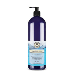 Baby Bath & Shampoo 1 litre (1000ml) - Natural Ethos