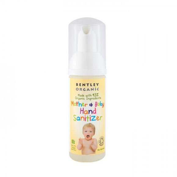 Bentley Organic Mother & Baby Hand Sanitizer 50ml - Natural Ethos