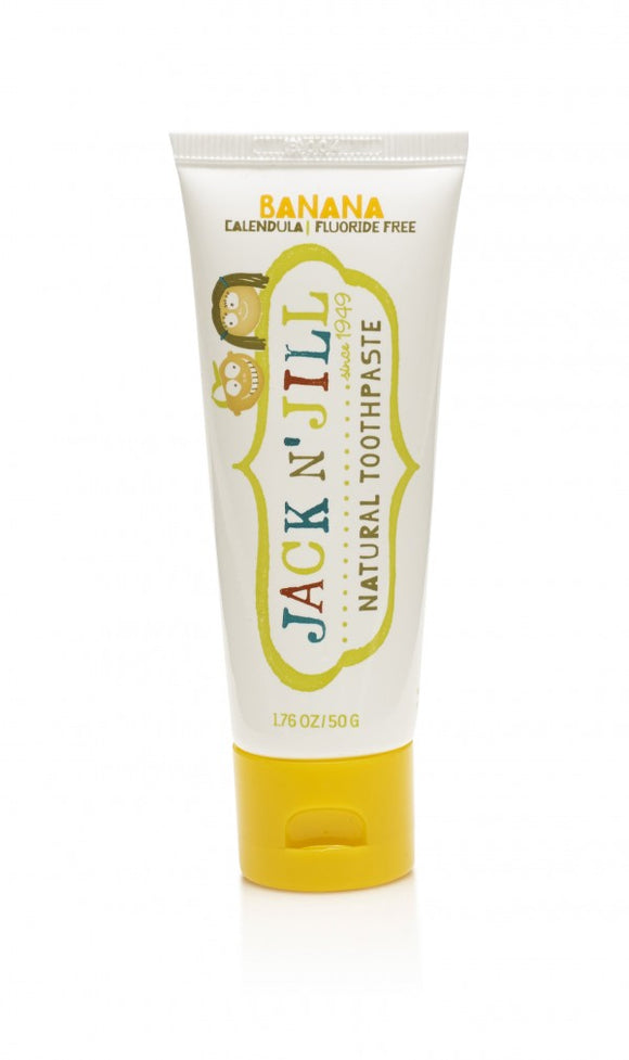 Jack N' Jill Natural Toothpaste Banana 50g - Natural Ethos