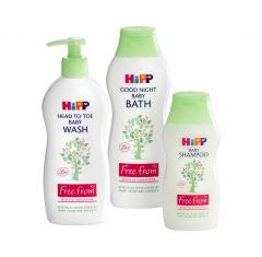 HIPP Starter pack: wash, bath, shampoo - Natural Ethos