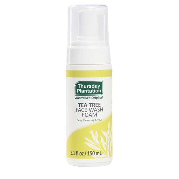 Thursday Plantation Tea Tree Face Wash 150ml - Natural Ethos