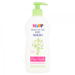 HIPP Head to toe baby wash (400ml) - Natural Ethos