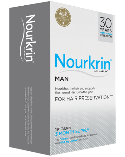 Nourkrin Man 180 Tablets (3 Months Supply) - Natural Ethos