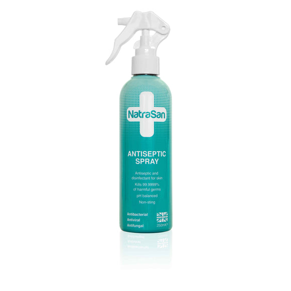 NatraSan Antiseptic Spray 250ml - Natural Ethos
