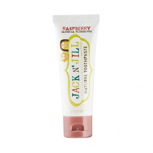 Jack N' Jill Natural Toothpaste Raspberry 50g - Natural Ethos