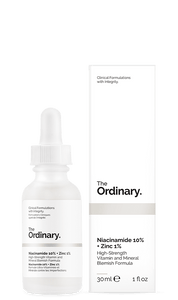 The Ordinary Niacinamide 10% + Zinc 1% - Natural Ethos