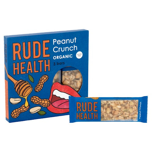 Rude Health Organic Peanut Crunch Bar Multipack - Natural Ethos