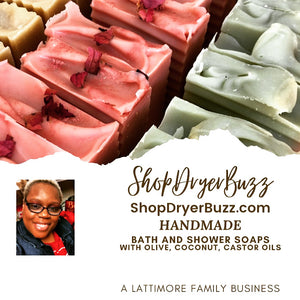 Handmade Bath and Shower Soaps by DryerBuzz | Shop DryerBuzz