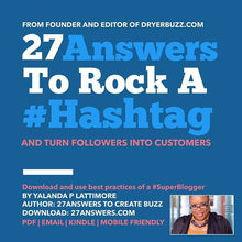 Load image into Gallery viewer, Download 27 Answers to Rock Hashtags | Books by DryerBuzz