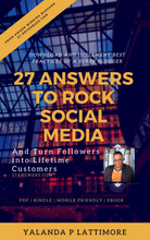 Load image into Gallery viewer, Download 27 Answers to Rock Social Media | Books by DryerBuzz