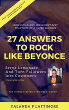 Load image into Gallery viewer, Download 27 Answers to Rock Like Beyonce | Books by DryerBuzz