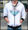 KENSHO DREAMS LIGHTWEIGHT REVERSIBLE HOODIE // JUSTIN TOTEMICAL