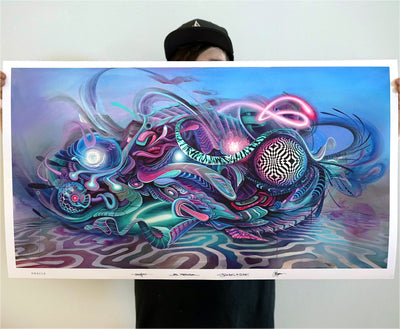 ORACLE Signed Print by Jake Amason x Peter Westermann x Stephen Kruse x Sydwox1 - 24 Hour Release