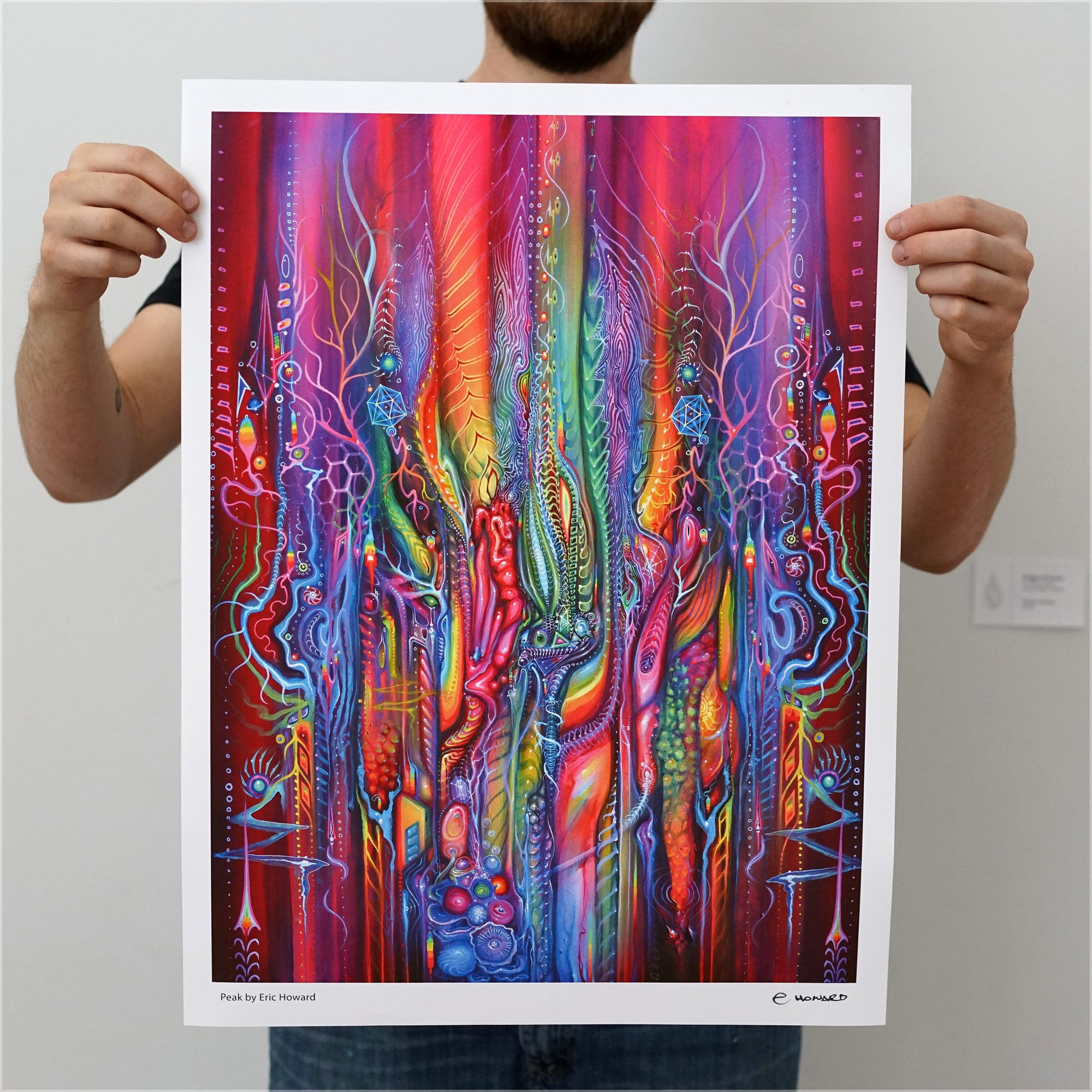 Peak Signed Print by Eric Howard - 24 Hour Release