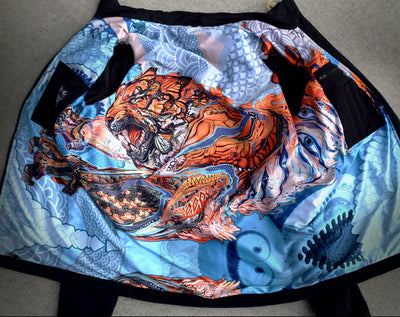 Tactical Tiger Jacket by Android Jones , Apparel - Android Jones, Threyda - 3
