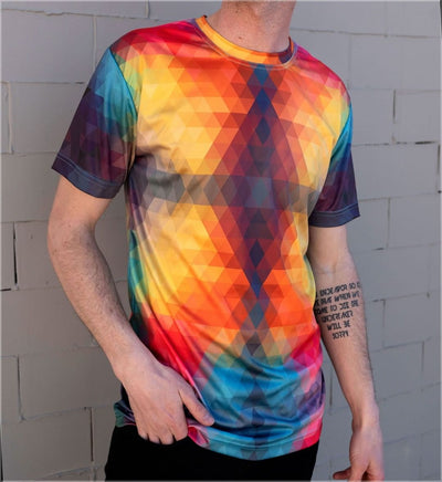 Sun God Sublimation Tee by Threyda