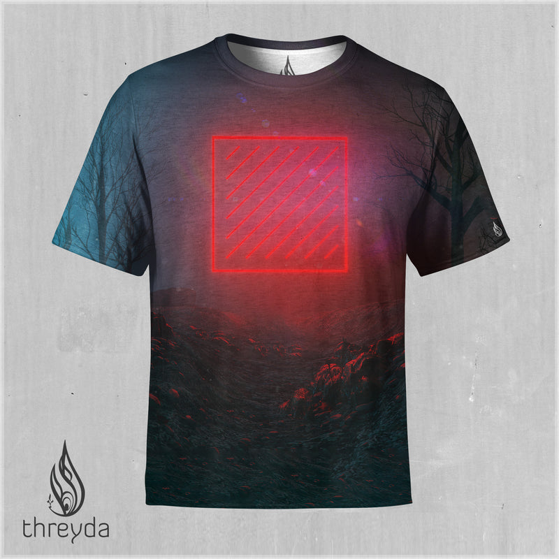 UNCOMPRESSED Sublimation Tee by BEEPLE