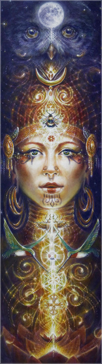 Divinity Rising by Autumn Skye , Art Print - Autumn Skye, Threyda