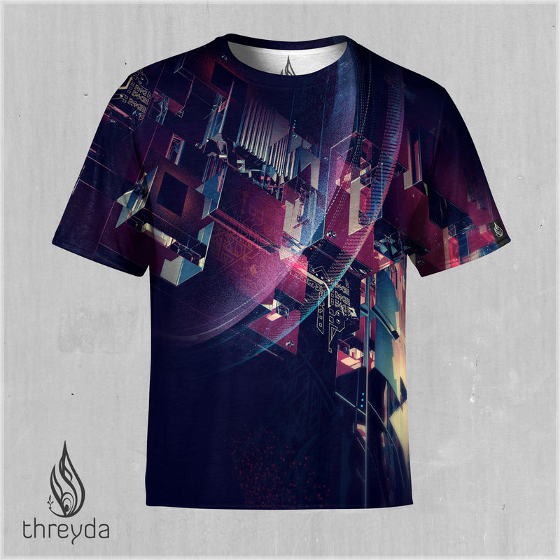 Fusion Cell Sublimation Tee by Cassady Bell