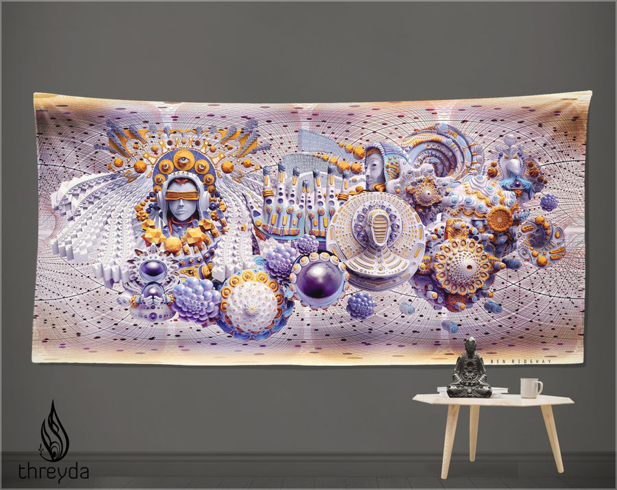 Gigapixel Dream Tapestry by Ben Ridgway