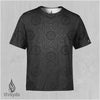 Graphite Sublimation Tee by Justin Totemical