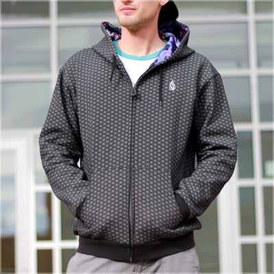 Mothership Reversible Hoodie by Mike Cole , Apparel - Mike Cole, Threyda - 3