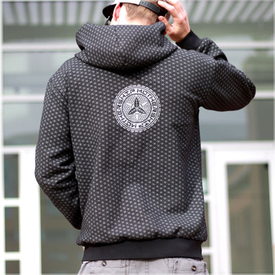 Mothership Reversible Hoodie by Mike Cole , Apparel - Mike Cole, Threyda - 4