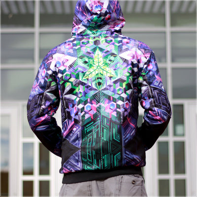 Mothership Reversible Hoodie by Mike Cole , Apparel - Mike Cole, Threyda - 2