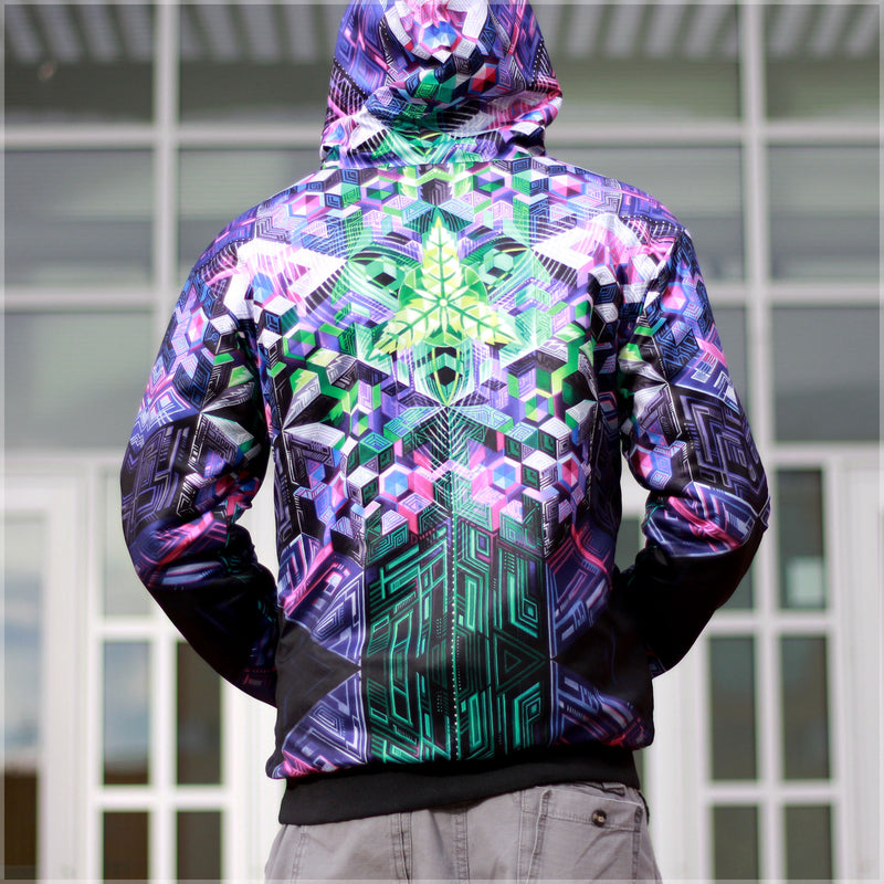 Mothership Reversible Hoodie by Mike Cole